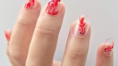 'Fish nail art' the new nail polish trend [Photos]