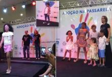 Fuss for 'animal market' adopted children on the catwalk Brazil