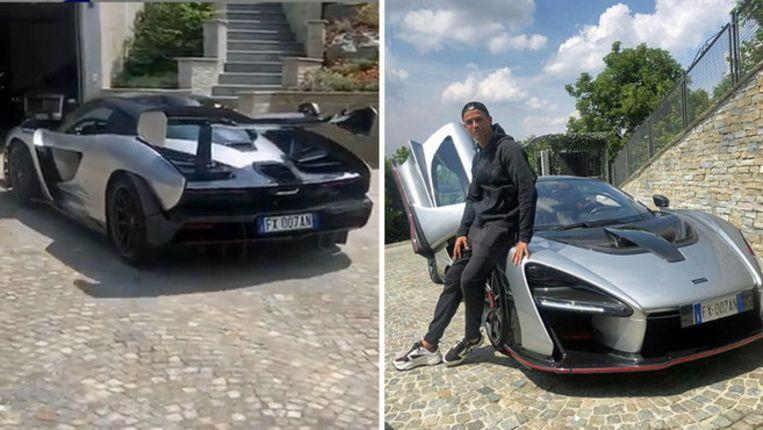 """Cristiano Ronaldo shows off """"his"""" new (and very exclusive) car"""