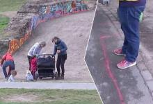Park in Berlin marks fixed places where drug dealers can stand