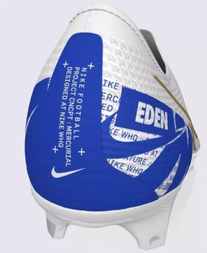 Eden Hazard honors Chelsea with a new personalized boot