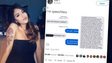 Lady gets heartwarming message from ex who is getting married