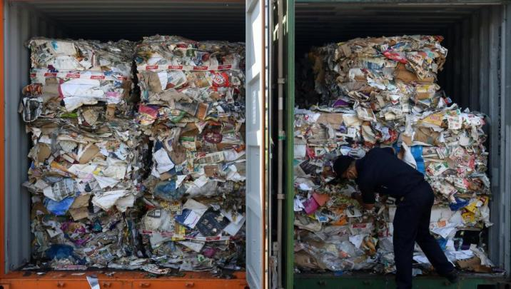 Indonesia sends waste containers back to France and Hong Kong