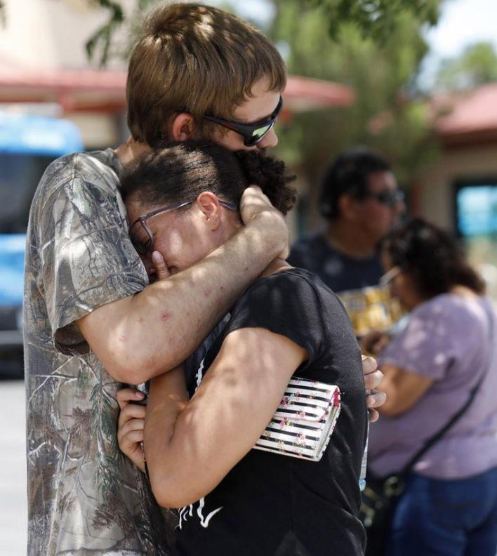 "Witnesses about the shooting in El Paso: ""I was so worried about all those kids"""