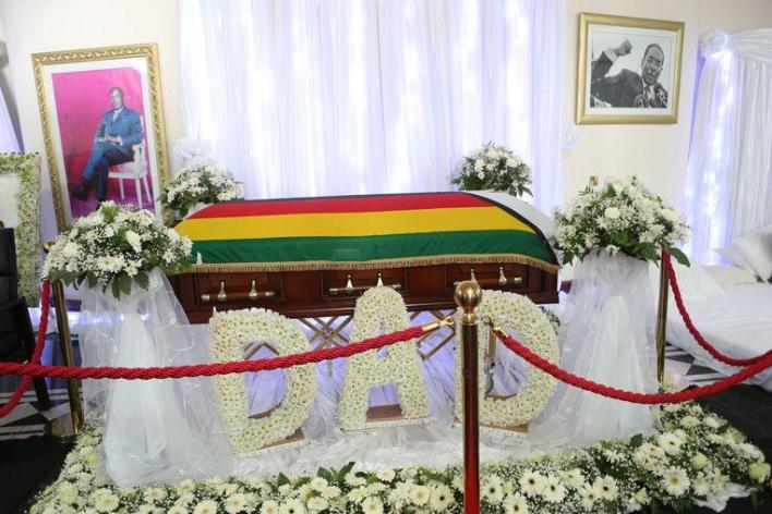 Mugabe is buried in his home village according to his family