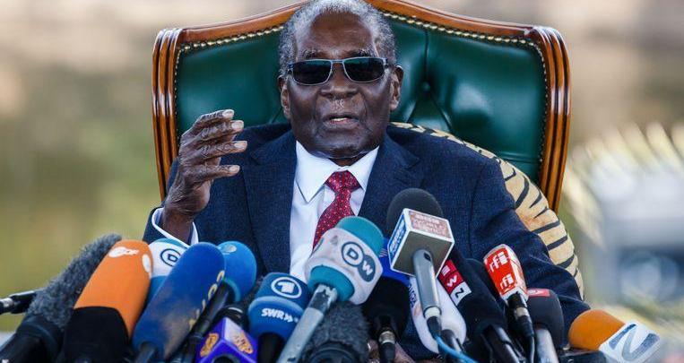 Zimbabwean former president Robert Mugabe (95) died