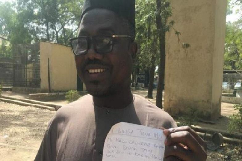 "Two blind men protest against ""discriminatory proverbs"" in Nigeria"