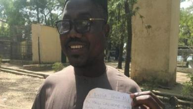 """Two blind men protest against """"discriminatory proverbs"""" in Nigeria"""