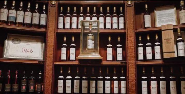 Largest private collection of whiskey in the world goes under hammer