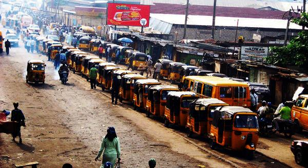 Okada and Keke taxis ban in Lagos state