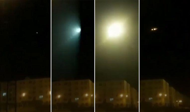 Video shows the moment when Ukrainian plane is hit by rocket