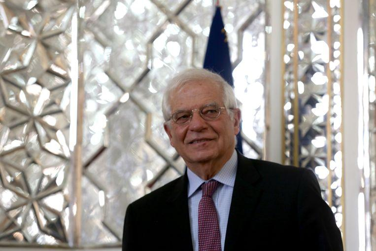 """EU diplomat Borrell apologizes for term """"Greta syndrome"""""""
