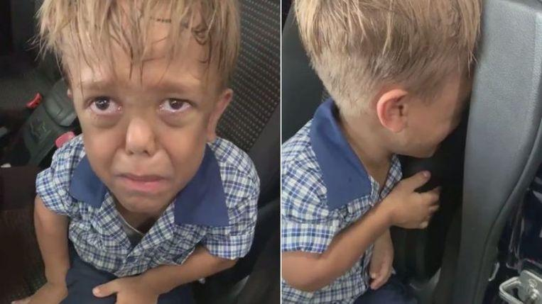 Mum films terrible consequences of bullying her dwarfed son