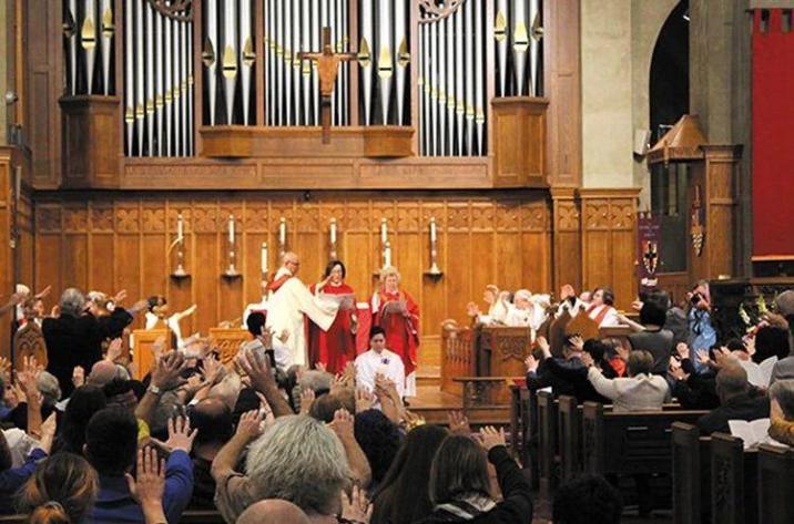 Kori Pacyniak was ordained within the Catholic Priestess Movement (RCWP)