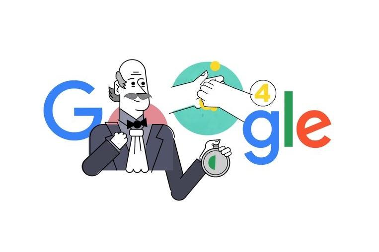 Google honors man who discovered the importance of handwashing