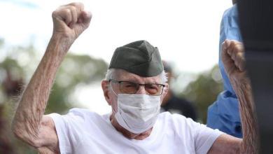 Brazilian war veteran (99) recovered from Covid-19