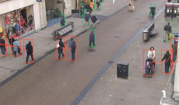 AI company develops detector that detects social distance