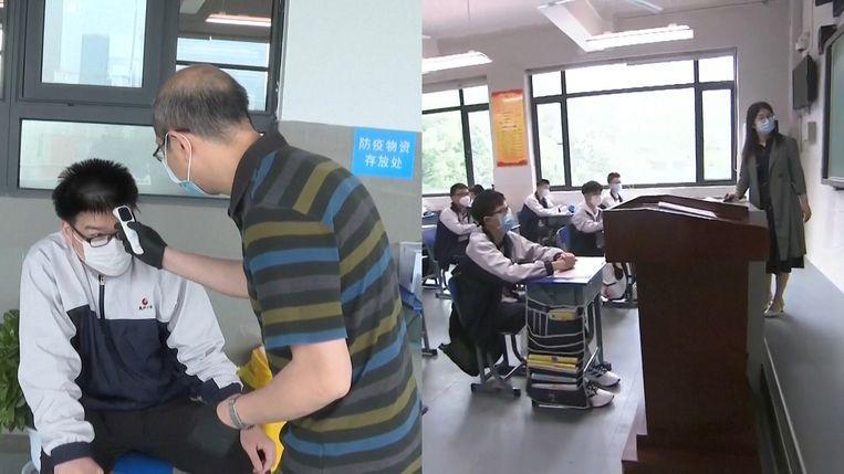 Wuhan, where coronavirus broke out, some schools open again