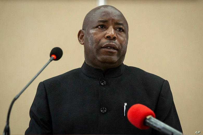 Evariste Ndayishimiye: the new president of Burundi