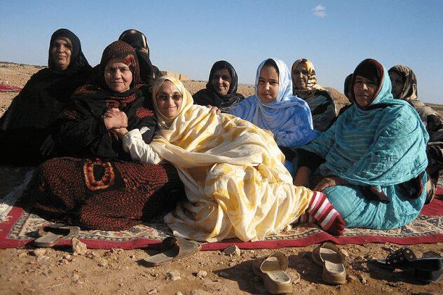 Sahrawi women