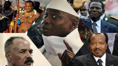 Top 5 craziest African dictators you never know