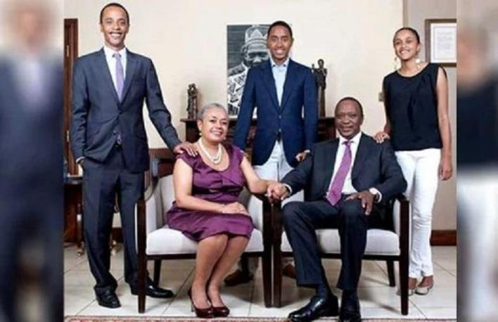 Jomo, Muhoho and Ngina Kenyatta (Kenya): Richest Kids in Africa: Who are they? find out the top 10