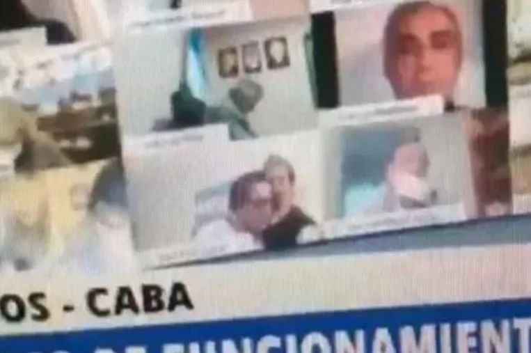 Argentinian politician suspended after kissing breasts during parliament session