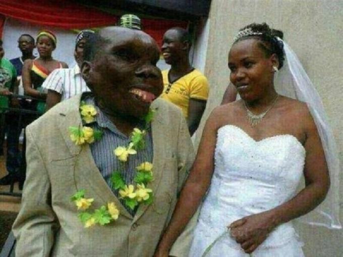 "Ugandan ""ugliest man"" marries third woman with great pomp"