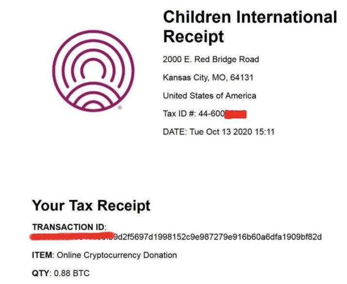 Hackers issued their tax receipt