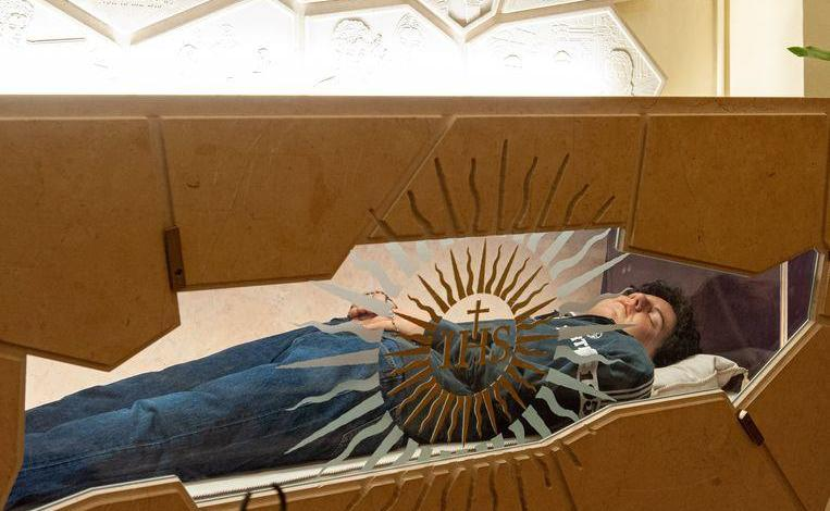 15-year-old millennial beatified; embalmed body in Basilica Assisi