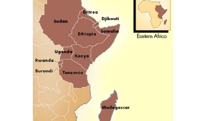 East Africa is slowly breaking away from Africa