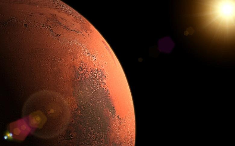 Why planet Mars is currently highly visible in the night sky