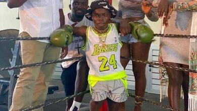 Shatta Bandle in a boxing ring! Who will challenge him?