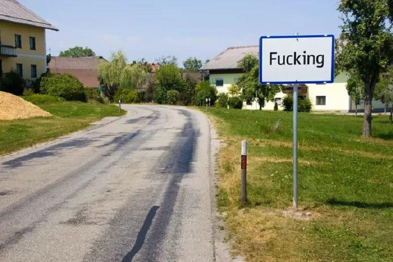 The village called 'Fucking' want to change the name