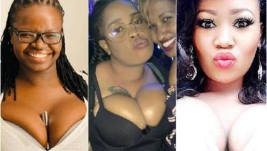 Top 5 Kenyan celebrities with overload chest & biggest teats