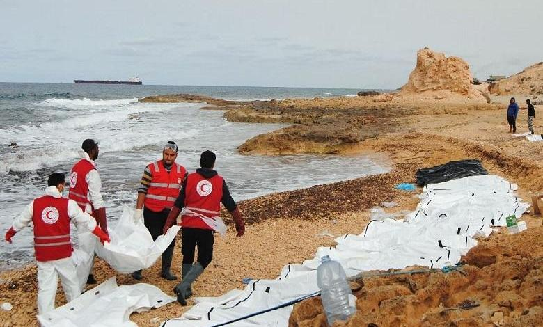 Bodies of 74 migrants wash up on Libyan beach