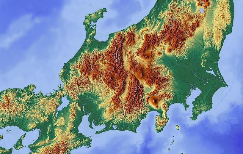 Powerful earthquake near the Japanese coast