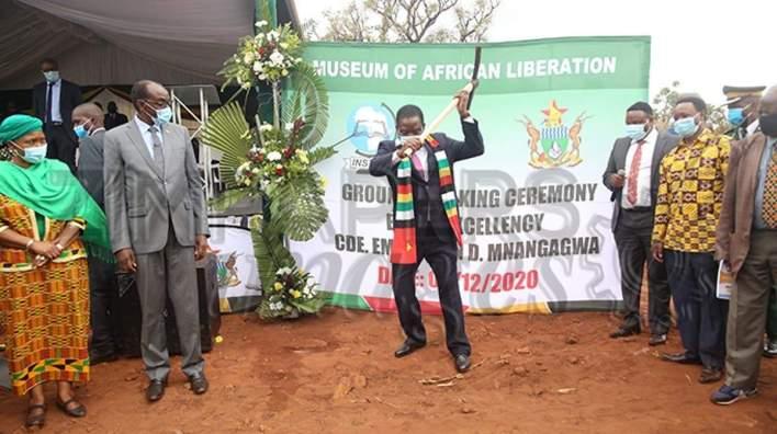 Africa is not yet free – says Zimbabwean president
