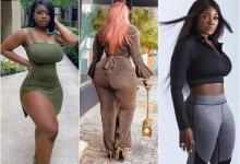 Top 10 Nigerian women with most killer curves