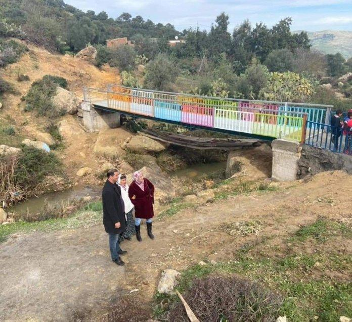 Karim Arfa, who build a bridge that brings smiles back to schoolchildren