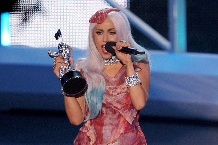 Lady Gaga on a meat dress, Top 5 creepy things about celebrities you need to know