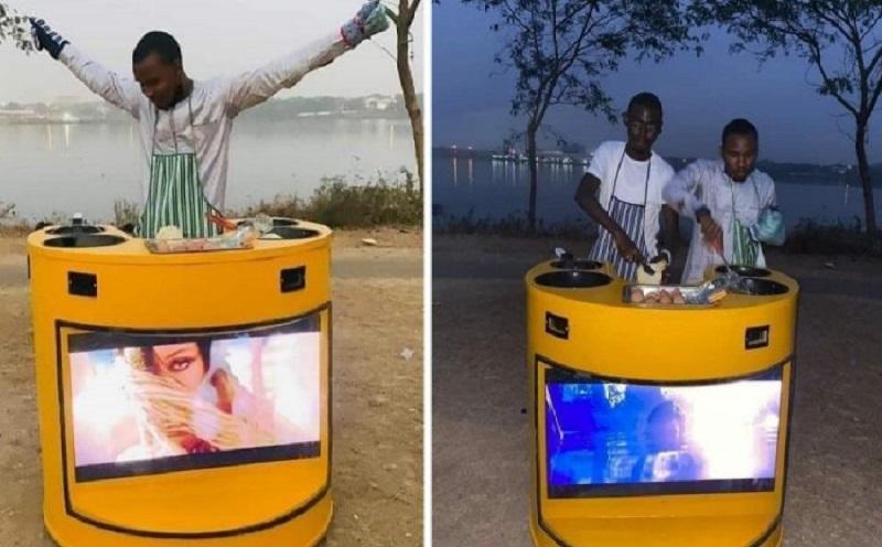 Student of ABU Zaria built a solar-powered kiosk