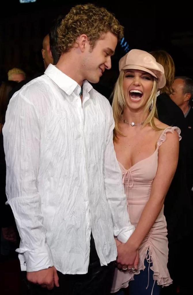 Justin Timberlake and Britney Spear