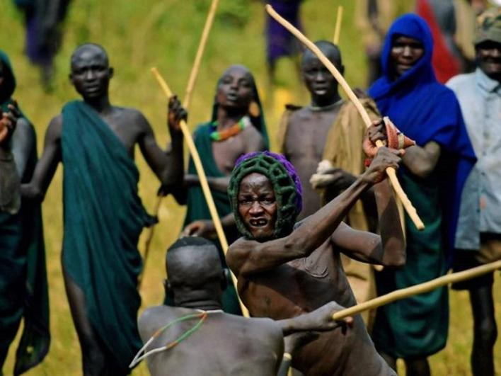 Surma people of Ethiopia marriage rituals
