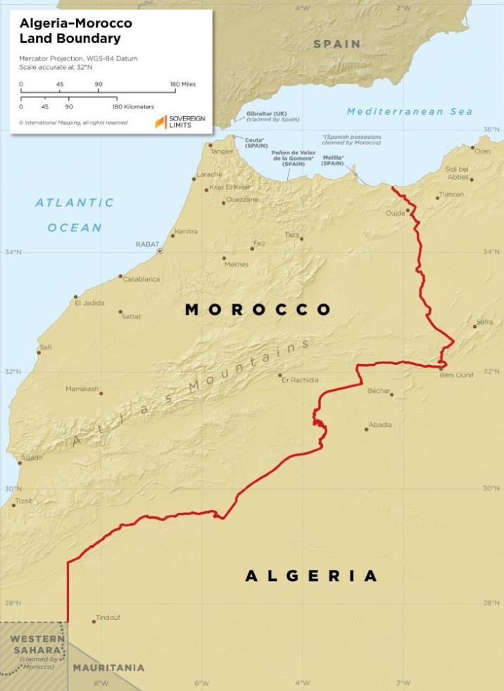 What will new tensions on the Algeria-Morocco border lead to?