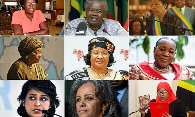 First 10 female presidents in Africa