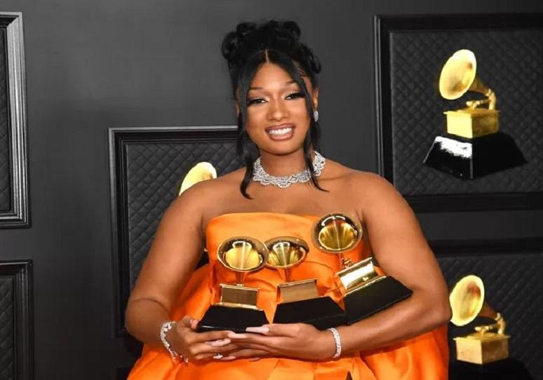 Megan Thee Stallion thanks 'haters' for Grammy success