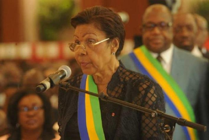 Rose Francine Rogombe (Acting President of Gabon)