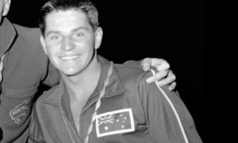 John Konrads, the man who swam 26 world records, died at the age of 78