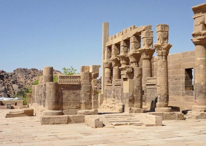 Temples of Philae Island